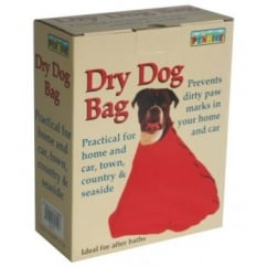 Dry & Clean Your Dog Towelling Bag - Size 5