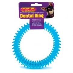 Mighty Mouth Dental Ring Dog Toy 15cm