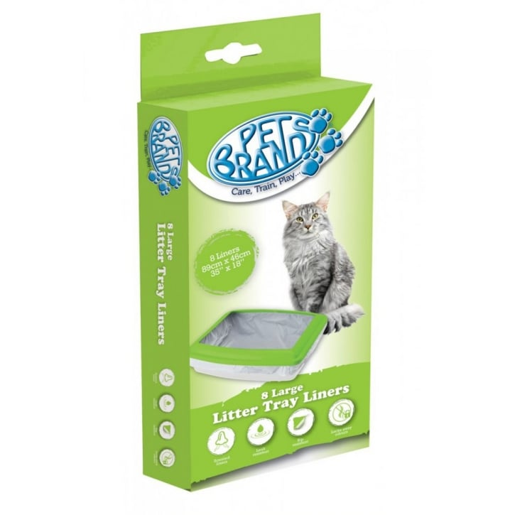Pet Brands Cat Litter Tray Liners - Large