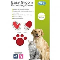 Pet Brands Easy Groom Grooming Glove for Cats & Dogs