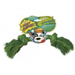 Fresh Breath Floss Cotton Bone Dog Toy
