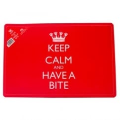 Keep Calm and Have a Bite Feeding Mat