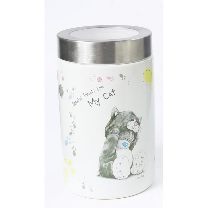 Me To You © Ceramic Cat Food Storage Container