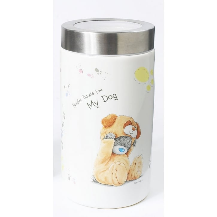 Pet Brands Me To You © Ceramic Dog Food Storage Container