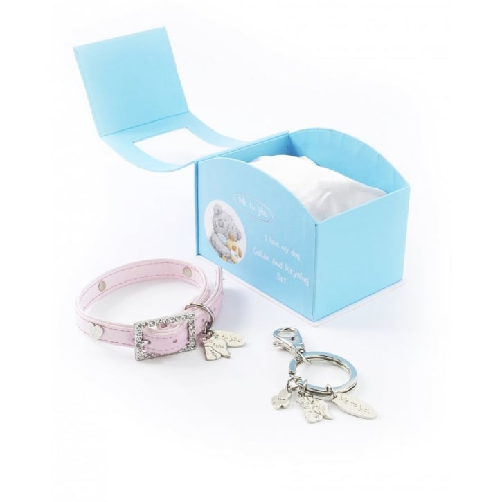 Pet Brands Me To You © Collar And Keyring Gift Set Pink