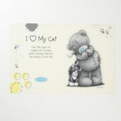 Me To You © Plastic Easy Wipe Cat Feeding Mat