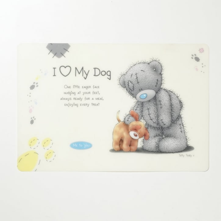 Pet Brands Me To You © Plastic Easy Wipe Dog Feeding Mat