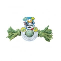 Minty Ball & Bone Dog Play Toy - Small