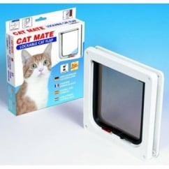 Cat Mate New Lockable Cat Flap 304 - White