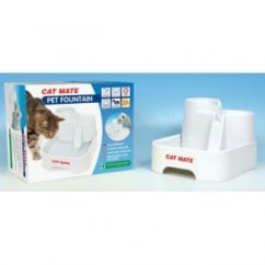 Cat Mate Pet Fountain For Cats And Small Dogs