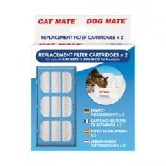 Cat Mate Pet Fountain Replacement Filter Cartridge