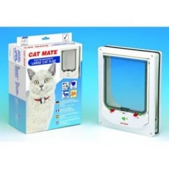 Pet Mate Electromagnetic Cat & Small Dog Flap 256w