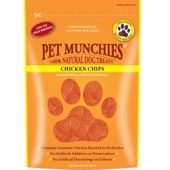 Pet Munchies Chicken Chips Dog Treat 100g