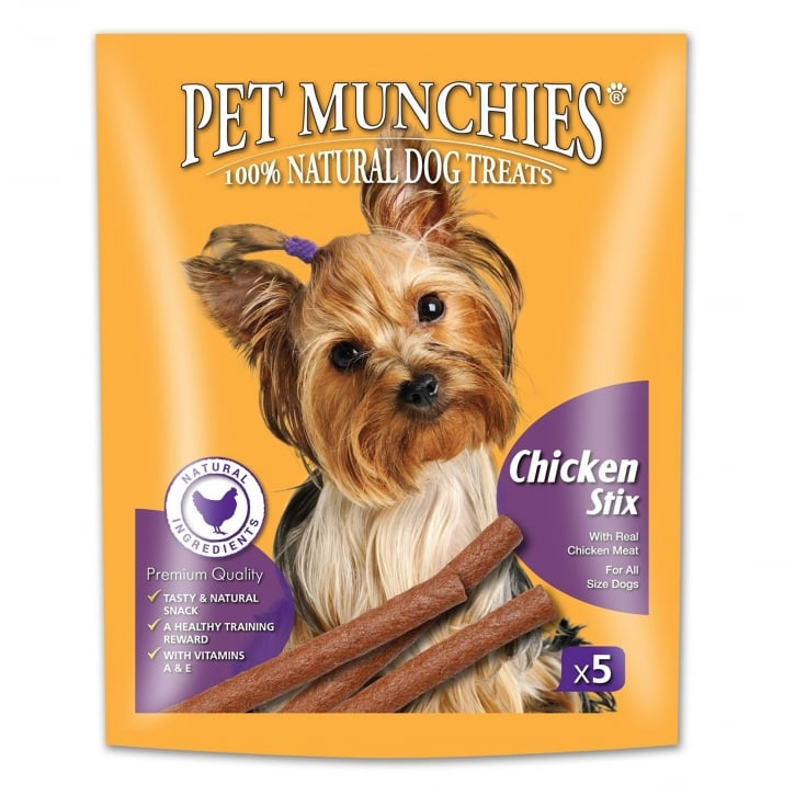 Pet Munchies Gourmet Chicken Stix Dog Treat 50g