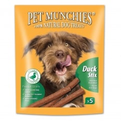 Pet Munchies Gourmet Duck Stix Dog Treat 50g