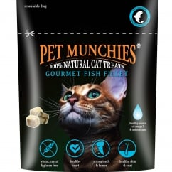Pet Munchies Gourmet Fish Fillet Cat Treats 10g