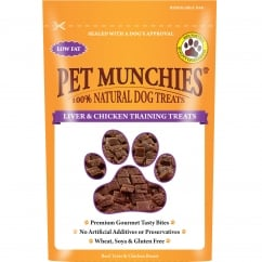 Pet Munchies Liver & Chicken Training Dog Treats 50g