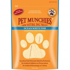 Pet Munchies Ocean White Fish Dog Treat 100g