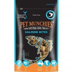 Pet Munchies Salmon Bites Dog Treat 90g