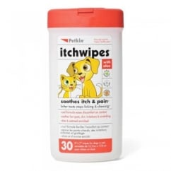 Dog & Cat Itch Wipes 30pk