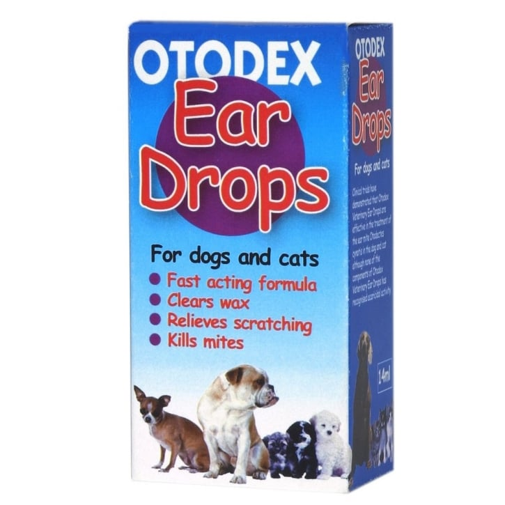 Petlife Otodex Ear Drops For Dogs Size 14ml