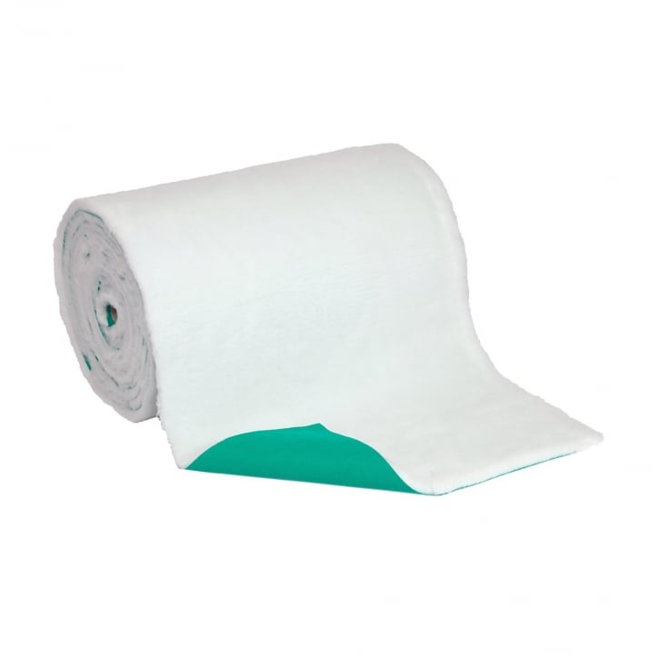 Petlife White Vetbed Dog And Cat Bedding - Size 10metre X .76m Roll