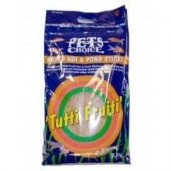 Pets Choice Tutti Frutti Mixed Koi & Pond Sticks 2.5kg