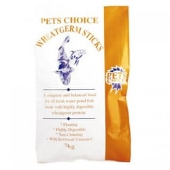 Pets Choice Wheatgerm Fish Pond Sticks 5kg