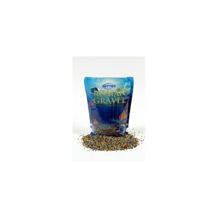 Pettex Roman Aquarium Gravel - Spectrum Mix 8kg