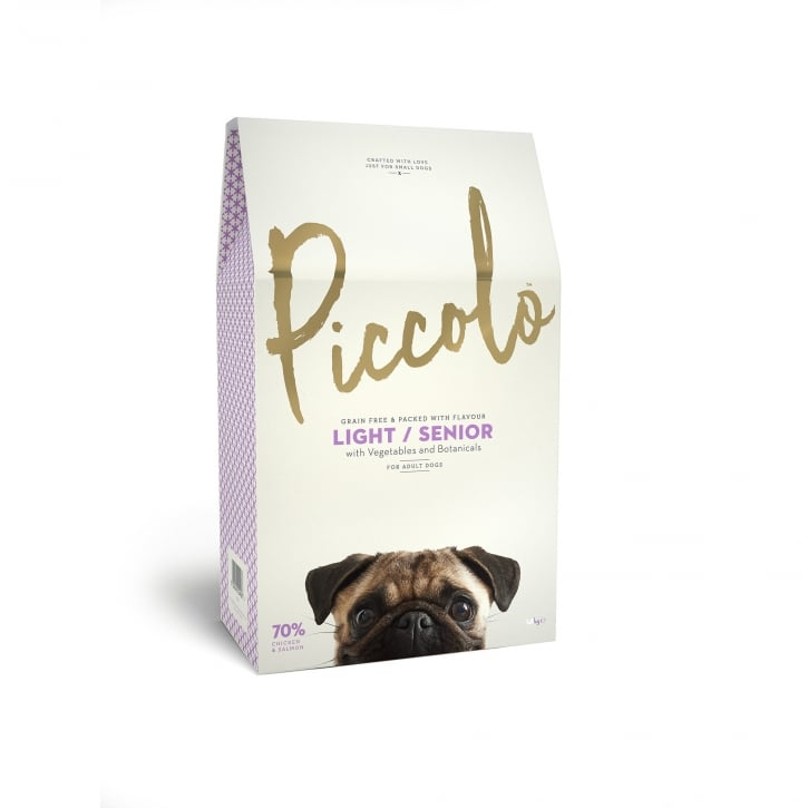 Piccolo Light / Senior Dog Food Chicken & Salmon with Vegetable & Botanicals 4kg