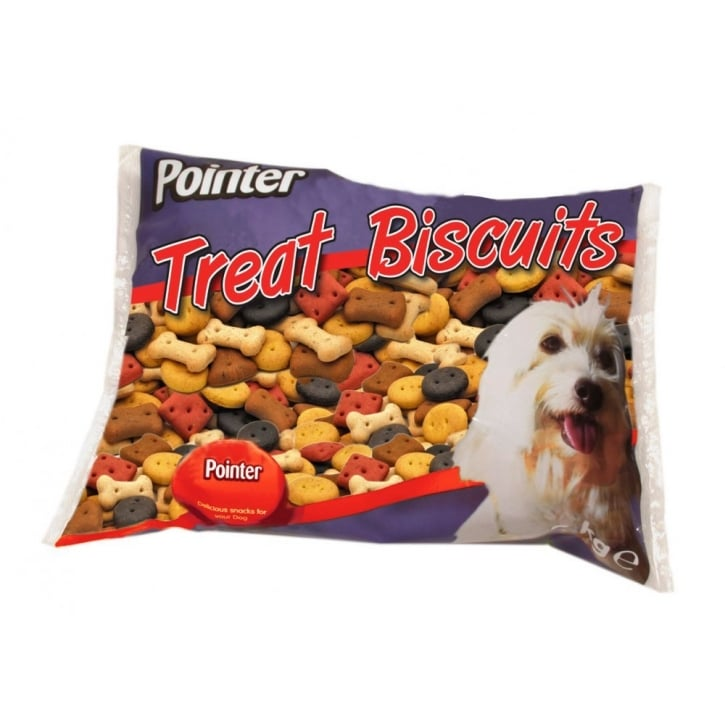 Pointer Assorted Dog Treat Biscuits 2kg