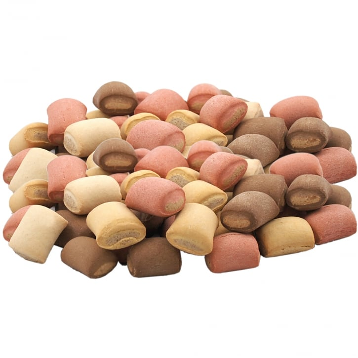 Pointer Assorted Mini Rolls Dog Biscuits 12.5kg