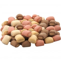Assorted Mini Rolls Dog Biscuits - 12.5kg