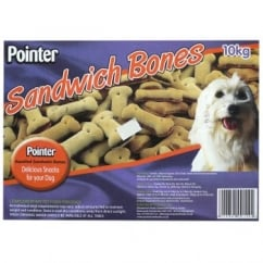 Pointer Assorted Sandwich Bones 10kg