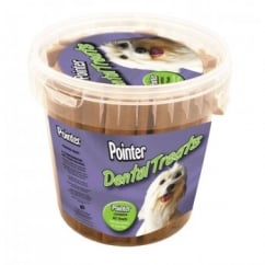 Pointer Dental Sticks Dog Treat - Tub 40's
