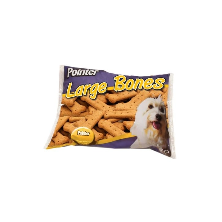 Pointer High Protein Large Biscuit Dog Bones 2kg