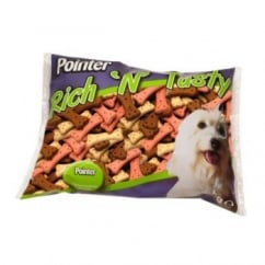Pointer Rich N Tasty Large Oven Baked Dog Biscuits - 2kg