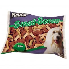 Small Assorted Biscuit Bones Dog Treat - 2kg