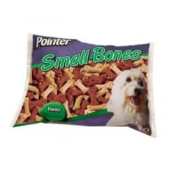 Pointer Small Assorted Biscuit Bones Dog Treat - 2kg