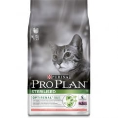 Pro Plan Cat Sterilised Optirenal Salmon & Rice 3kg