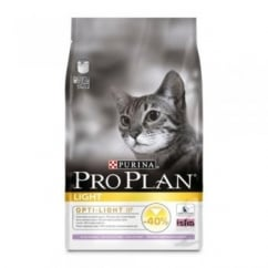 Pro Plan Light Optirenal Cat Food Rich In Turkey & Rice 3kg