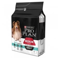 Pro Plan Medium Adult Dog Sensitive Digestion with OPTIDIGEST in Chicken 3kg