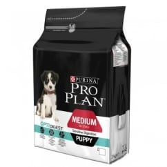 Pro Plan Medium Puppy for Sensitive Digestion with OPTIDIGEST in Chicken 3kg