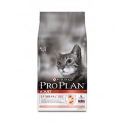 Pro Plan Optirenal Complete Adult Cat Food - Salmon & Rice 400gm