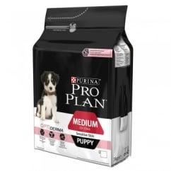 Pro Plan Sensitive Skin Medium Puppy with OPTIDERMA Rich in Salmon 3kg