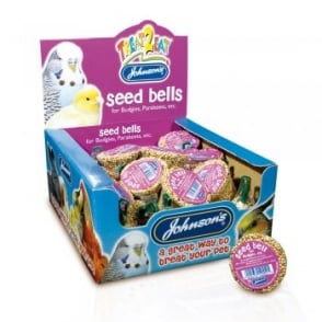 Johnsons Veterinary Budgie Seed Bell 34g