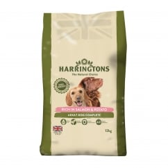 Complete Adult Dog Food Rich in Salmon & Potato 12kg