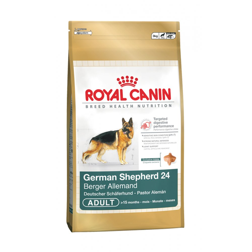 royal canin german shepherd dog food royal canin german shepherd adult 24 12kg feedem 6671