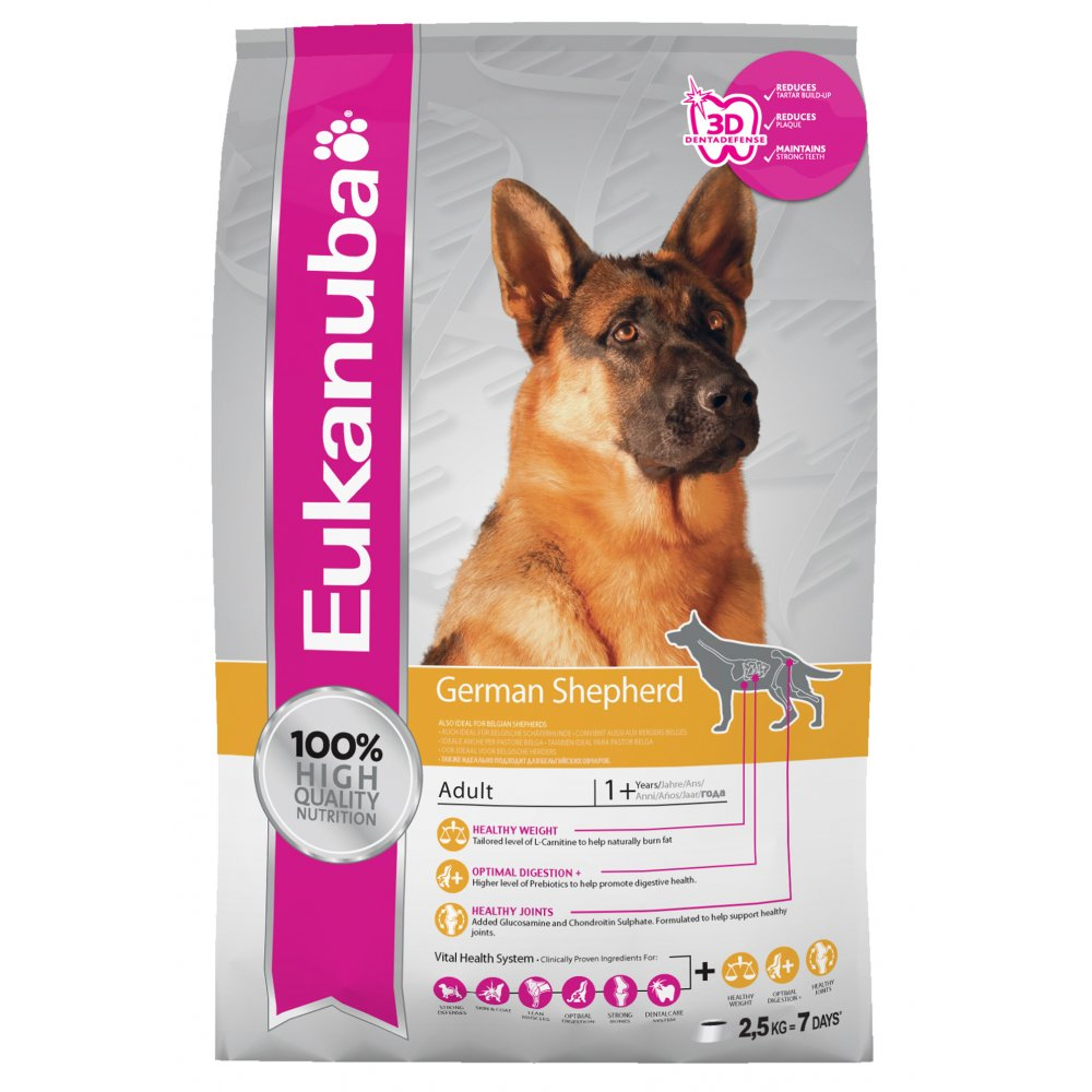 dog food for german shepherd puppy eukanuba adult german shepherd dog food with chicken 12kg 1573