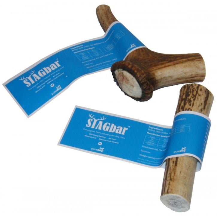 Pure Dog Stagbar British Antler Dog Chew Medium